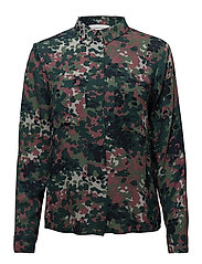 Milly shirt aop 7201 - PLUM DOTCAMO