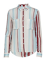 Milly shirt aop 7201 - RED LINE