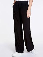 Samsøe Samsøe - Nessie pants 6515 - bukser med brede ben - black - 0
