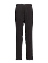 Hoys straight pants 7331 - BLACK