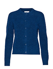Nor short cardigan 7355 - BLUE OPAL