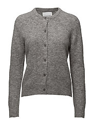 Nor short cardigan 7355 - GREY MEL.