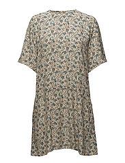 Adelaide dress aop 6515 - BLOSSOM