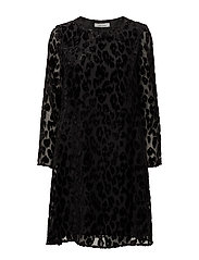 Kayla ls dress 9308 - BLACK