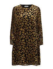 Kayla ls dress 9308 - GOLDEN ROD