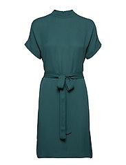 Kimberly ss dress 6616 - MALLARD GREEN