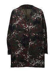 Posy jacket aop 9452 - PLUM DOTCAMO