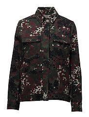 Kealey jacket aop 9746 - PLUM DOTCAMO