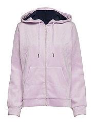 Kaci zip hoodie 9545 - ORCHID BOUQUET