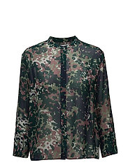 Elm shirt aop 9695 - PLUM DOTCAMO