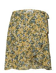 Limon s wrap skirt aop 6515 - SOLEIL JARDIN