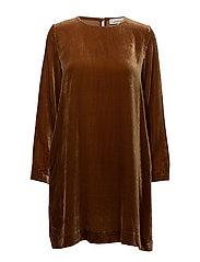 Marice ls dress 6627 - CARAMEL CAFE
