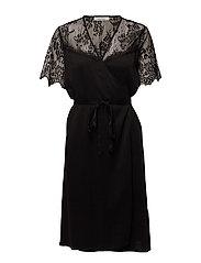 Simona ss dress 9874 - BLACK