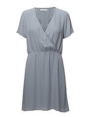 Doris s dress 3973 - DUSTY BLUE