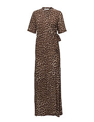 Mante l dress aop 10056 - LEOPARD