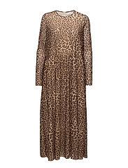 Milena dress aop 8211 - LEOPARD