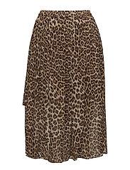 Picolo skirt aop 3459 - LEOPARD
