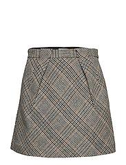 Blesa skirt 10153 - CARAMEL CHECK