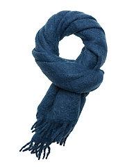 Minetta scarf 10552 - BIJOU BLUE