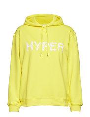 Apo hoodie 10059 - BLAZING YELLOW