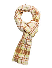 Accola long scarf 2862 - SULPHUR CHECK