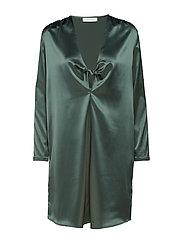 Apples ls dress 9697 - DUCK GREEN