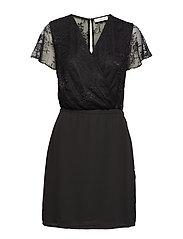 Geneva s dress 3973 - BLACK