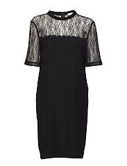 Emily ss dress 10461 - BLACK