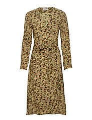 Marigold dress aop 6515 - SNAKE
