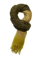 Minetta scarf stripe 10552 - DARK SAPPHIRE