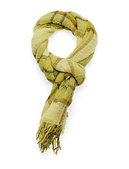 Minetta light scarf 10812 - YELLOW PEAR CH.