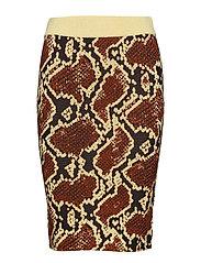 Hawkins skirt 10401 - SNAKE