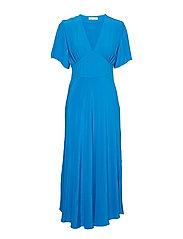 Cindy dress 10056 - BLUE ASTER
