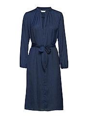 Elva ls dress 10793 - DARK SAPPHIRE