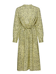 Ira ls dress aop 10761 - YELLOW BUTTERCUP
