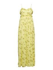 Way l dress aop 6891 - YELLOW BREEZE