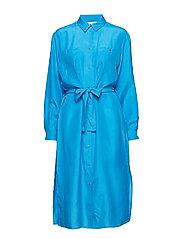 Cora shirt dress 10756 - BLUE ASTER