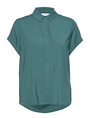 Majan ss shirt 9942 - MALLARD GREEN