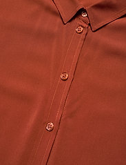 Samsøe Samsøe - Majan ss shirt 9942 - bluzki krotkim rekawem - picante - 2