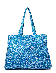 Canvas shopper aop 10833 - BLUE BUTTERCUP