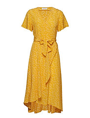 Veneto dress aop 10458 - ARANCIA