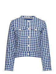 Jiang jacket 10891 - BLU CUBETTO