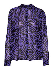 Elmy shirt aop 9695 - DEEP MOONSCAPE