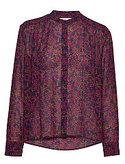 Elmy shirt aop 9695 - MOONLIGHT FLOWER