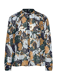 Elmy shirt aop 9695 - NIGHT MEADOW