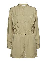 Apulia jumpsuit 10794 - SAGE GREEN