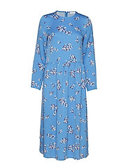 Rama dress aop 8325 - BLUE BREEZE