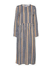 Rama dress aop 8325 - INCA CHECK