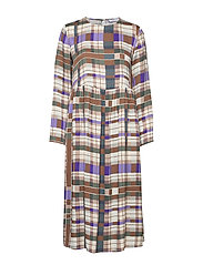 Rama dress aop 8325 - PATCHWORK CHECK