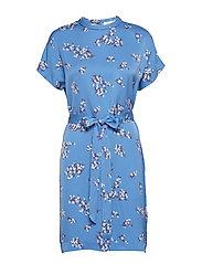 Blumea short dress aop 8325 - BLUE BREEZE